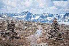 Tundra ίχνος Στοκ Εικόνα