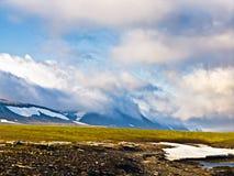 Tundra σε Novaya Zemlya (νέο έδαφος) Στοκ εικόνα με δικαίωμα ελεύθερης χρήσης