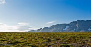 Tundra σε Novaya Zemlya (νέο έδαφος) Στοκ Εικόνα