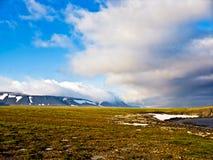 Tundra σε Novaya Zemlya (νέο έδαφος) Στοκ φωτογραφία με δικαίωμα ελεύθερης χρήσης
