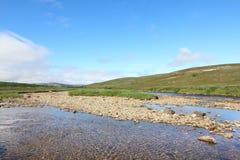 Tundra τοπίο στοκ εικόνα