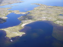 tundra τοπίων στοκ εικόνες με δικαίωμα ελεύθερης χρήσης