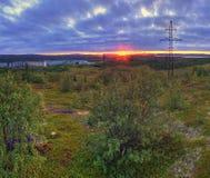 Tundra Stockfoto