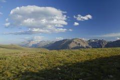 Tundra alpestre en las montañas rocosas de Colorado imágenes de archivo libres de regalías