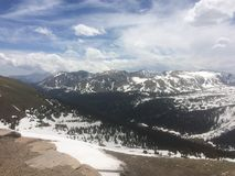 Tundra alpina Immagine Stock Libera da Diritti