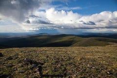 Tundra alpina alta Fotografia de Stock Royalty Free