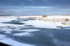 Tundra bei Churchill Lizenzfreie Stockfotos