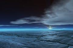 Tundra congelada Fotos de archivo libres de regalías