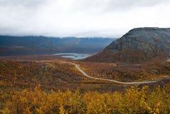Tundra del otoño Imágenes de archivo libres de regalías