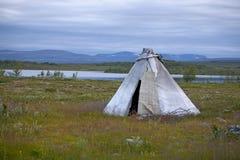 Tundra em Noruega Fotografia de Stock