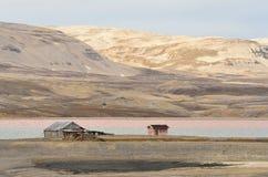 Arktische Tundra Stockfotografie