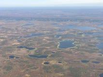 Tundra Lakeland Fotografía de archivo