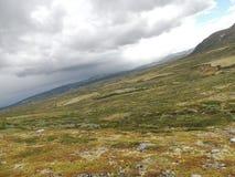Tundra noruega Imágenes de archivo libres de regalías