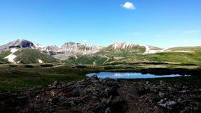 Tundra pond Stock Photo