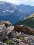 Tundra Terrain. High altitude tundra in the Colorado Rocky Mountains Stock Photography