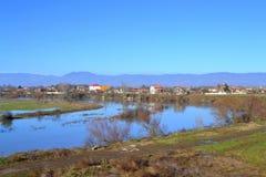 Tundzha river,Bulgaria Stock Photo