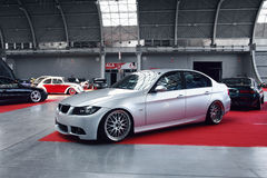 Tuned car BMW 3 Royalty Free Stock Photo