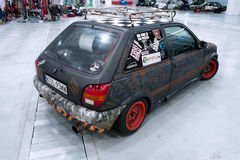 Tuned car, Ford Fiesta Rat Style Stock Images