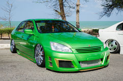 Tuned car Honda accord Stock Photography