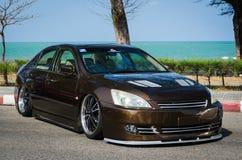 Tuned car Honda accord Stock Photo