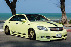 Tuned car Toyota camry Royalty Free Stock Image