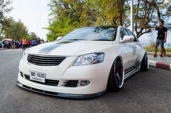 Tuned car Toyota camry Stock Photo