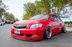 Tuned car Toyota camry Stock Photography
