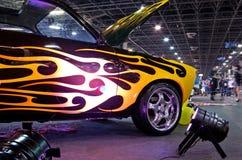 Tuned custom car Stock Photos