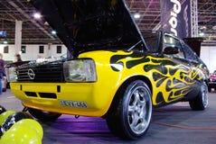 Tuned custom car royalty free stock photo