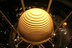 Tuned mass damper in Taiwan 101 Building. Tuned mass damper Taiwan 101 Building Royalty Free Stock Photography