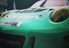 Tuned Porsche royalty free stock image