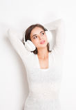 Tuned in. Royalty Free Stock Images