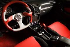 Tuned sport car Royalty Free Stock Photo