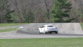 Tuned up cars racing (2 of 9). A view or scene of Sports Cars stock footage