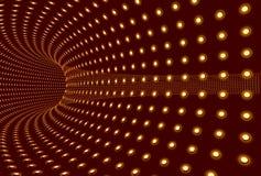tunel światła ilustracja wektor
