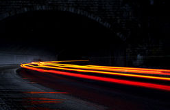 tunel дороги стоковое изображение rf