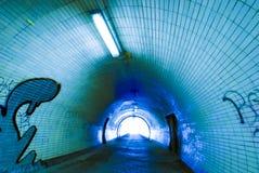 Tunel Zdjęcia Royalty Free