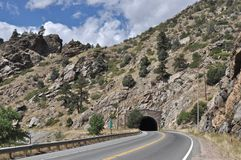 Tunel -3 fotografia royalty free