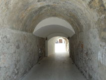 Tunel Arkivfoto