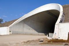 tunel cementowy Zdjęcia Royalty Free
