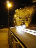Tunel de Vysehradsky, Prague Photo libre de droits