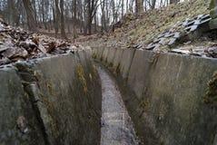 Tunel które nawadniają strumienia Obraz Royalty Free