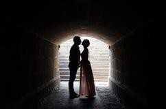 Tunel miłość Obrazy Royalty Free