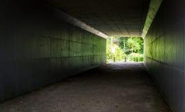 Tunel na ugór ziemi Zdjęcie Royalty Free