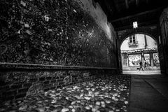 Tunel na zewnątrz Juliets Balocny zdjęcia stock