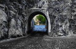 Tunel nadzieja Fotografia Royalty Free
