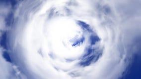 Tunel od chmury tła tekstury baśniowego projekta Abstrakcjonistyczny tło tunel chmury ilustracja wektor