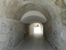 Tunel. Old tunel in cuenta city beach Stock Photo
