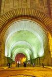Tunel pod mostem brooklyńskim Zdjęcia Stock
