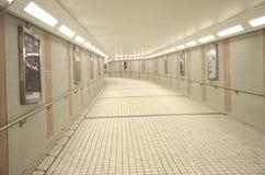 Tunel Pod Salisbury drogą, Hong Kong Zdjęcie Stock